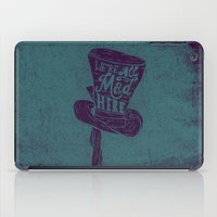 alice in wonderland iPad Cases featuring Alice in Wonderland by Drew Wallace