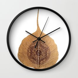 Bo Leaf Wall Clock