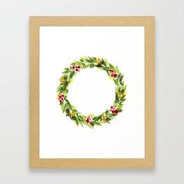 Whispering Pine Cones Framed Art Print