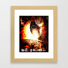 ILL DESIGN - GCORPmediasolutions Framed Art Print