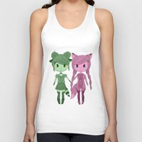 sisters Tank Tops featuring Sisters by Yun Hee