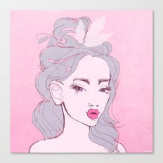 selfie girl_9 Canvas Print