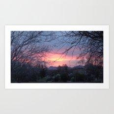 Arizona Sunset 1 Art Print