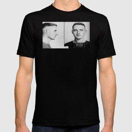 Neal Cassady Mug Shot T-shirt