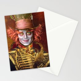 Mad Hatter General Portrait Painting Fan Art Stationery Cards