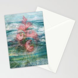 Coral of the Sea Stationery Cards