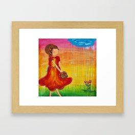 'Jodie' by Jolene Ejmont Framed Art Print