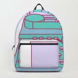 Typemachine Blue Backpack