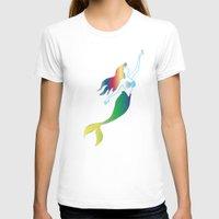 mermaids T-shirts featuring Mermaids by Los Espada Art
