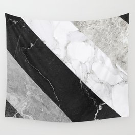 Contemporary Marble Stone Rays Wall Tapestry