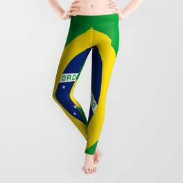 Flag of Brazil-Brazil, flag, flag of brazil, brazilian,Rio, Sao Paulo, Rio de Janiero, carnival Leggings