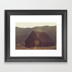 Summer Fields   04 Framed Art Print