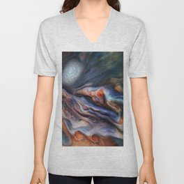The Art of Nature - Jupiter Close Up Unisex V-Neck