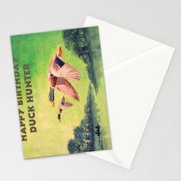 Happy Birthday Duck Hunter Stationery Cards