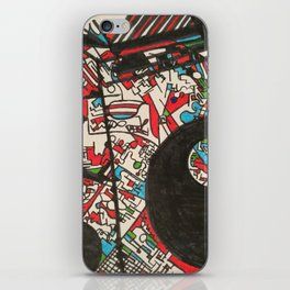 Map Drawing iPhone Skin