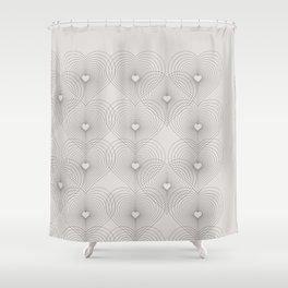 Heart Shape Pattern #society6 #decor #buyart Shower Curtain