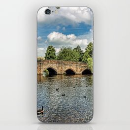 5 Arches of Bakewell Bridge iPhone Skin