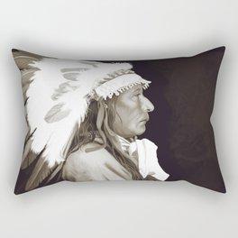Native American I. Digital painting Rectangular Pillow
