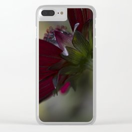 Chocolate Cosmos Clear iPhone Case