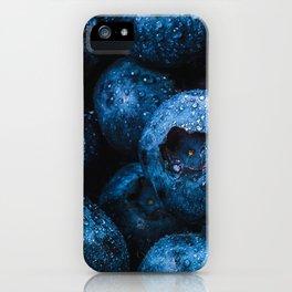 Blueberry Brambles iPhone Case
