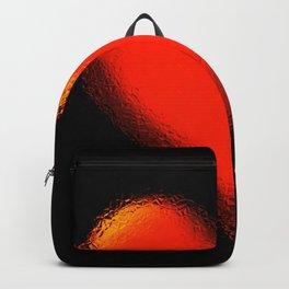 Big broken mirror red heart Backpack