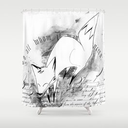 minima - deco fox Shower Curtain