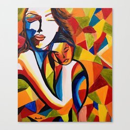 Loving Mom Canvas Print