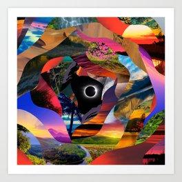 Eclispe Art Print