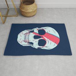Bowie Skull Rug