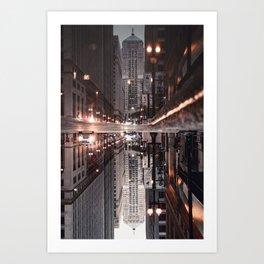 Gotham City Squared - Art Print Art Print