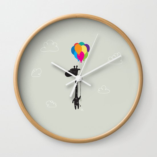The Happy Flight Wall Clock