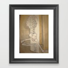 Bone Dance Framed Art Print