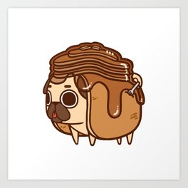 Puglie Pancakes Art Print