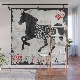 French Farms Horse Wall Mural
