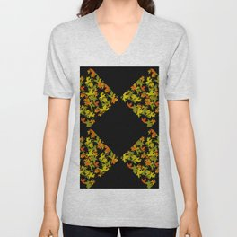 Fall Color Diamond 4 Unisex V-Neck