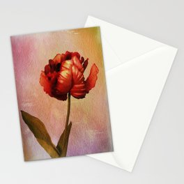 Parrot Tulip Textured Stationery Cards
