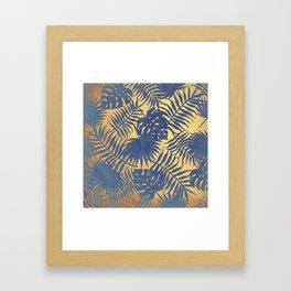 Chicago Gold Framed Art Print