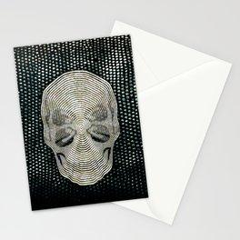 Twilight 4 Eyes Skull Stationery Cards