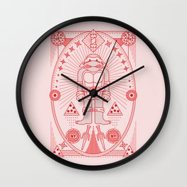 Raph Pizza Jam  Wall Clock
