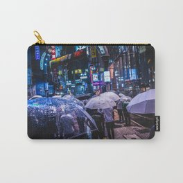 Shibuya Rainy Night Carry-All Pouch