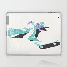 skateboarding (lost time, risograph version) Laptop & iPad Skin