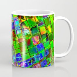 Psychedelic Planet Disco Ball Coffee Mug