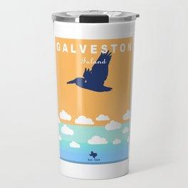 Galveston Texas. Travel Mug