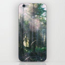 Morning Webs iPhone Skin