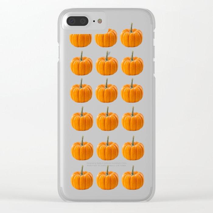 pumpkin pattern  Clear iPhone Case