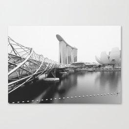 Singapore Marina Bay Canvas Print