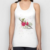 blossom Tank Tops featuring Blossom by IvanaW