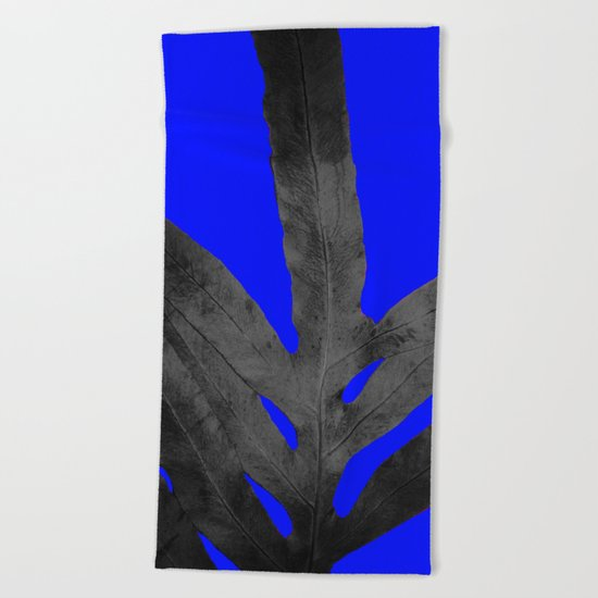Cooler Nights, October Fern Beach Towel