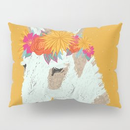 Penelope the Pinto Donkey Pillow Sham