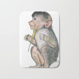 Hungry Little Monkey Bath Mat